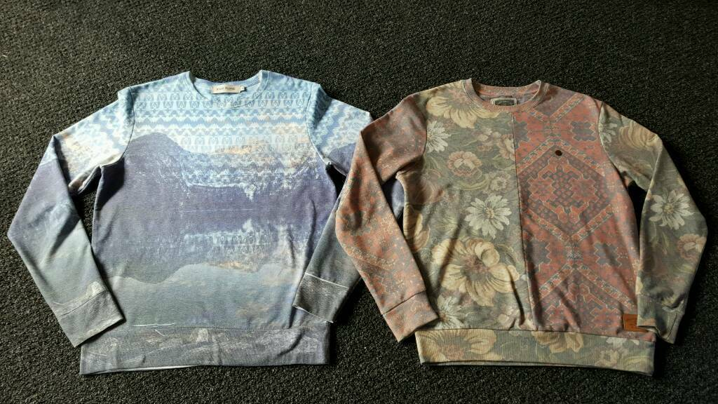 2 x mens River Island sweatshirts size Mediumin Bournemouth, DorsetGumtree - 2 mens sweatshirts size medium from River Island Can sell separate £6 each