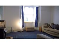 TO LET LARGE SELF CONTAINED FURNISHED FLAT ( ONE BEDROOM ) RENT INCLUDES BOTH COUNCIL TAX AND WATER