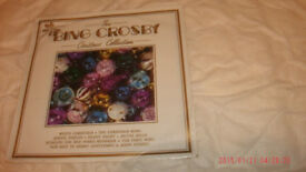 "BING CROSBY- ""CHRISTMAS COLLECTION""-12.INCH VINYL LP-(M)"
