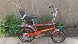 Raleigh Chopper Bike 1979