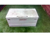 Weather guard storage box for tools