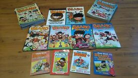 Collection of Beano manuals and comics