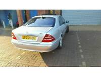Mercedes s class S430 fully equipped low miles not bmw vw audi volvo ford vauxhall Peugeot vw