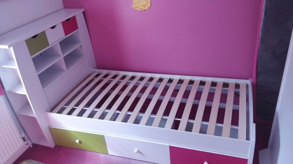 Admirable Single Cabin Bed With Storage Fold Out Chair Bed And All Bedroom Accessories In York North Yorkshire Gumtree Squirreltailoven Fun Painted Chair Ideas Images Squirreltailovenorg