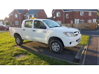 TOYOTA HILUX 2.5 TD INVINCIBLE 4WD DOUBLE CAB MANUAL D4D 2007 NO OFFERS OR PENNY LESS NO TEXT MESSAG