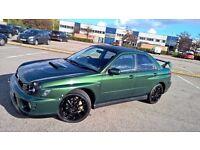 subaru impreza wrx turbo bugeye prodrive 2001 with mot