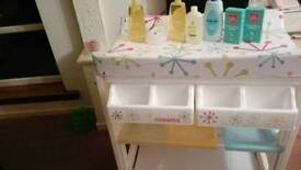COSATTO BABY CHANGING/BATHING STATION