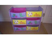 Peppa Pig Toy Storage Unit