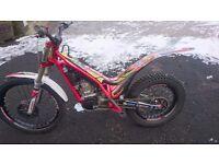 GASGAS TXT 300 2017 trials bike