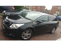 TOYOTA AVENSIS T4 2.2D-CAT ESTATE 2009 59 REG 2 OWNER FSH