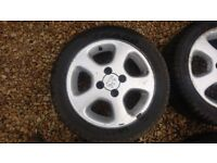 Peugeot 306 s16 Xsi 15 inch Alloy wheels and tyres