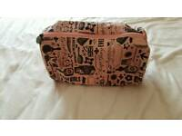 Soap and glory toiletries bag