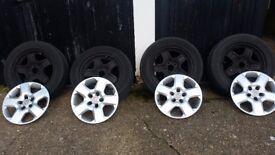 Wheel & tyres