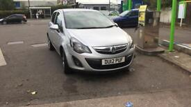 Vauxhall corsa cheap low mileage bargain