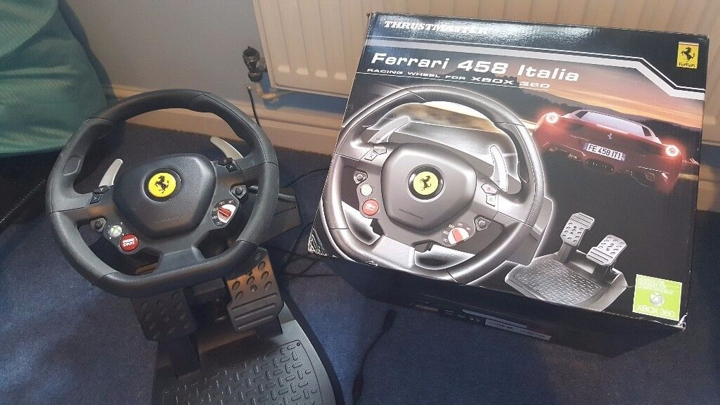 Ferrari 485 italia racing wheel xbox 360