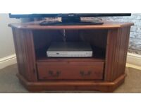 TV Corner unit - Antique Pine - solid wood