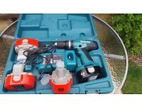 Makita battery drill 18v