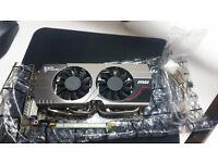 --Quick Sale-- MSI R7850 Twin Frozr OC AMD Radeon HD 7850 2GB