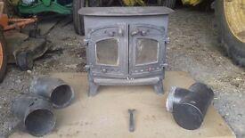 Villager wood burner