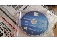 OEM Windows 10 Professional 64-bit DVD