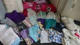Bundle of girls clothing age 7-8