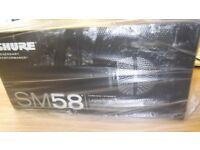 shure sm58s brand new and boxed