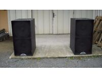 Blackline S218 Subwoofer Club Speakers price negotiable