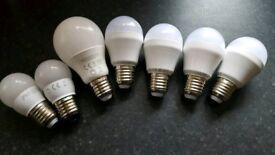 TCP LED E27 Bulbs ES