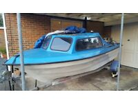 Fishing boat 15', DT40 Suzuki Outboard and trailer