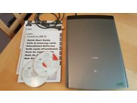 Canon CanoScan LiDE 35 Flatbed Scanner with instructions software and usb power cable