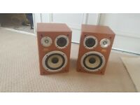 sanyo 3 way base speakers