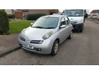 Nissan Micra 1.2 SX 2004 spares or repairs