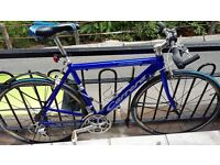 Exelent condition carrera race bike with new tires and weels
