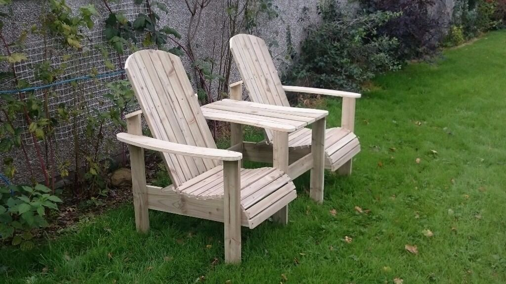 Jack and jill seat love seat twin seat garden chair summer for Outdoor furniture gumtree