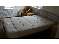 Double bed frame - RESERVED