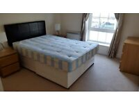 Free Double Divan Bed with Mattress