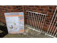 Lindam extending metal stair gate (wall fix)
