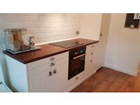 Whole Kitchen 9 units + Induction Hob, Sink, Tap, Table