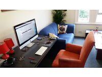 Desk space available in creative office in the heart of Kingston