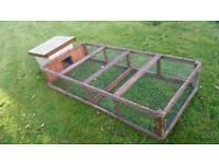 Hutch coop hen chicken rabbit