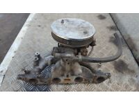 ford pinto 1.6 2.0 cortina escort sierra capri manifold weber 32/36 dgav carb and filter