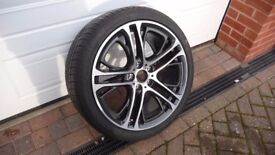 "1x Number - Genuine BMW X3 & X4 - 20"" Alloy Wheel 310 M with Goodyear Excellence Tyre (Rear Wheel)"
