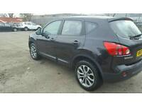 Nissan Qashqai 1.5 Acenta Dci 2wd Black 57 Plate