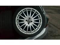 "18"" O.Z racing wheels"