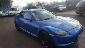 MAZDA RX8. 192. 2004. FEB MOT. 91925 MILES. RECENT ENGINE REBUIILD.