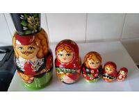 Matryoshka. russian doll