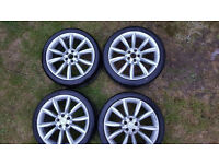 Wheels and tyres 5*100 18