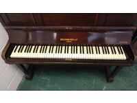 Beautiful 'Broadwood White' Upright Console Piano - CAN DELIVER