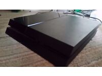 1TB MINT PS4 + 2 CONTROLLERS + 10 GAMES!!!!