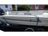Shakespeare Mustang Speedboat